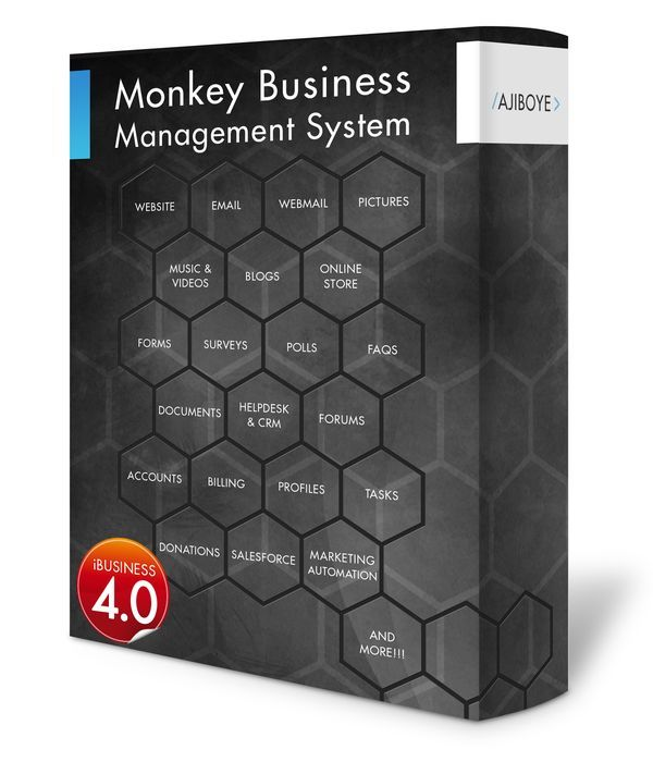 Monkey Business Management System - simply, everything you need to build your business!